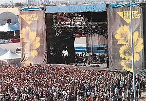 Edgefest Music Festival Shirt from 1997